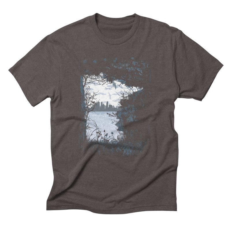 MN Hidden Treasures Men's Triblend T-Shirt by Logo Mo Doodles, Drawings, and Designs