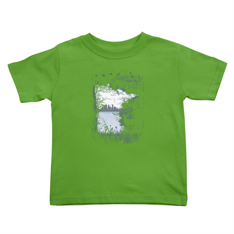 MN Hidden Treasures Kids Toddler T-Shirt by Logo Mo Doodles, Drawings, and Designs