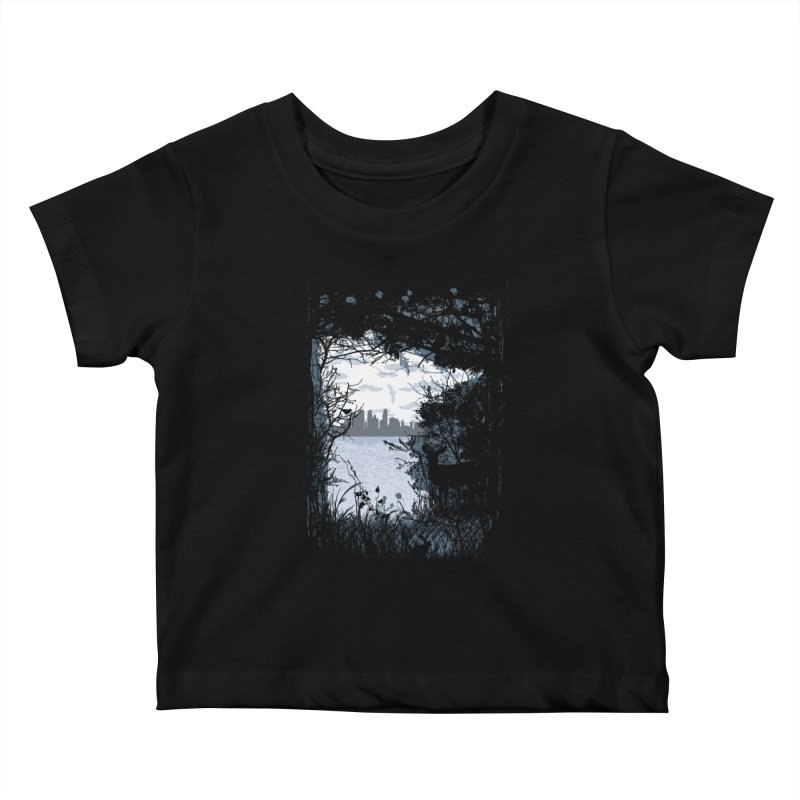 MN Hidden Treasures Kids Baby T-Shirt by Logo Mo Doodles, Drawings, and Designs