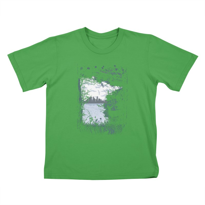 MN Hidden Treasures Kids T-Shirt by Logo Mo Doodles, Drawings, and Designs
