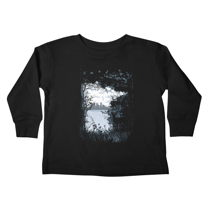 MN Hidden Treasures Kids Toddler Longsleeve T-Shirt by Logo Mo Doodles, Drawings, and Designs