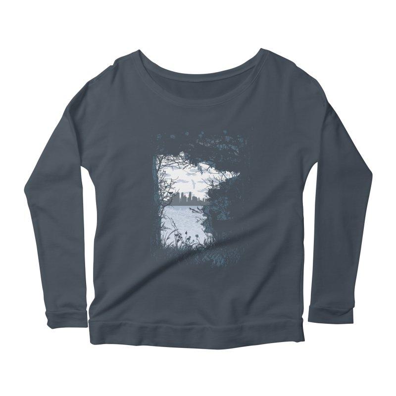 MN Hidden Treasures Women's Scoop Neck Longsleeve T-Shirt by Logo Mo Doodles, Drawings, and Designs