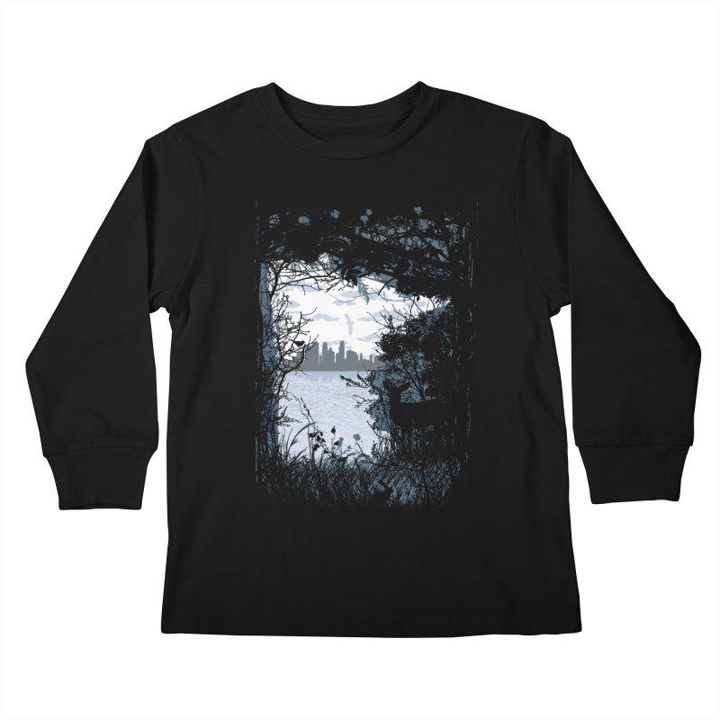 MN Hidden Treasures Kids Longsleeve T-Shirt by Logo Mo Doodles, Drawings, and Designs