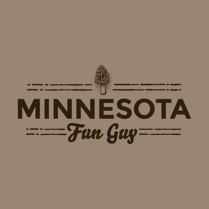 "MN Fun Guy ""Fungi"" (dark brown) Men's Sweatshirt by Logo Mo Doodles, Drawings, and Designs"
