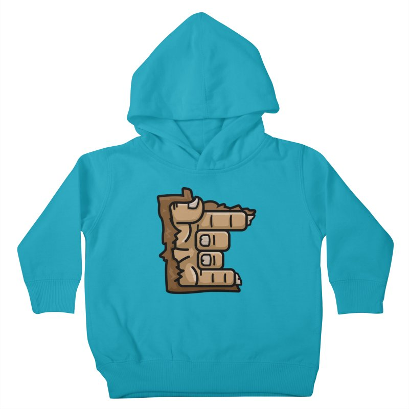 MN Rock On Sasquatch Hand Kids Toddler Pullover Hoody by Logo Mo Doodles, Drawings, and Designs