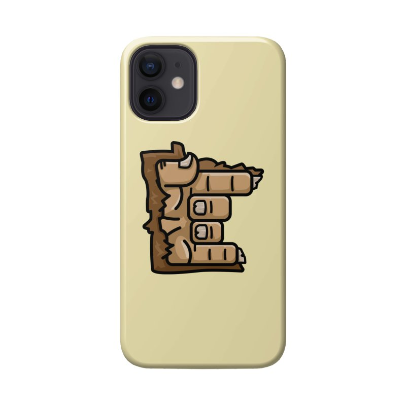 MN Rock On Sasquatch Hand Accessories Phone Case by Logo Mo Doodles, Drawings, and Designs
