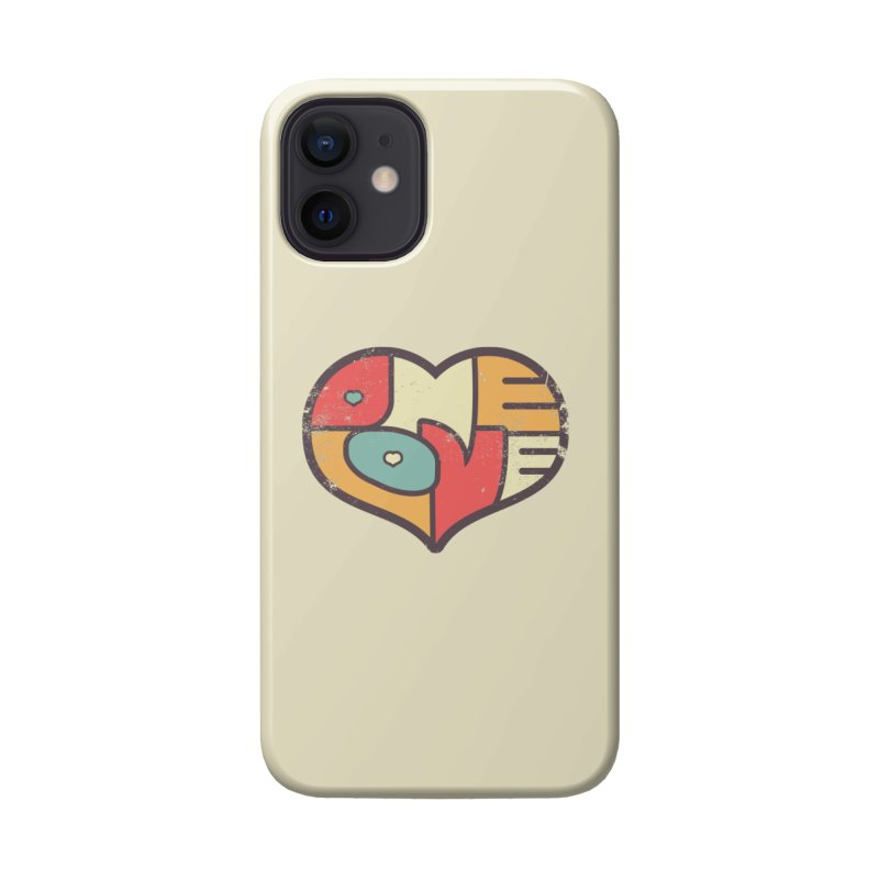 One Love (colorful) Accessories Phone Case by Logo Mo Doodles, Drawings, and Designs