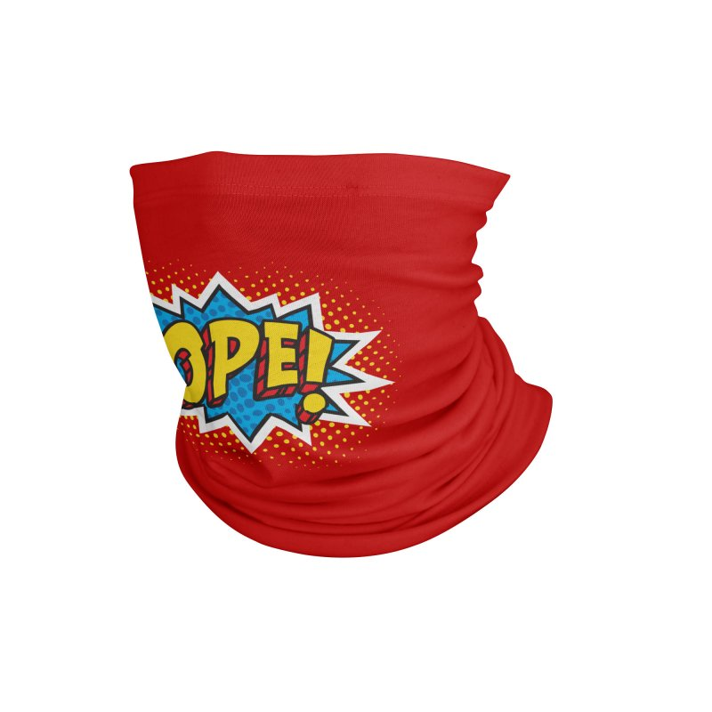 Ope Burst Accessories Neck Gaiter by Logo Mo Doodles, Drawings, and Designs