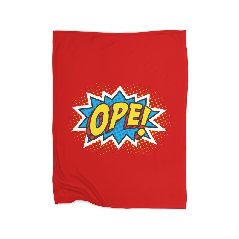 Ope Burst Home Blanket by Logo Mo Doodles, Drawings, and Designs