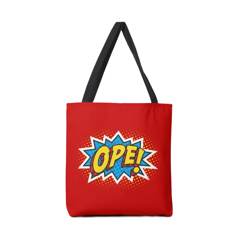 Ope Burst Accessories Bag by Logo Mo Doodles, Drawings, and Designs