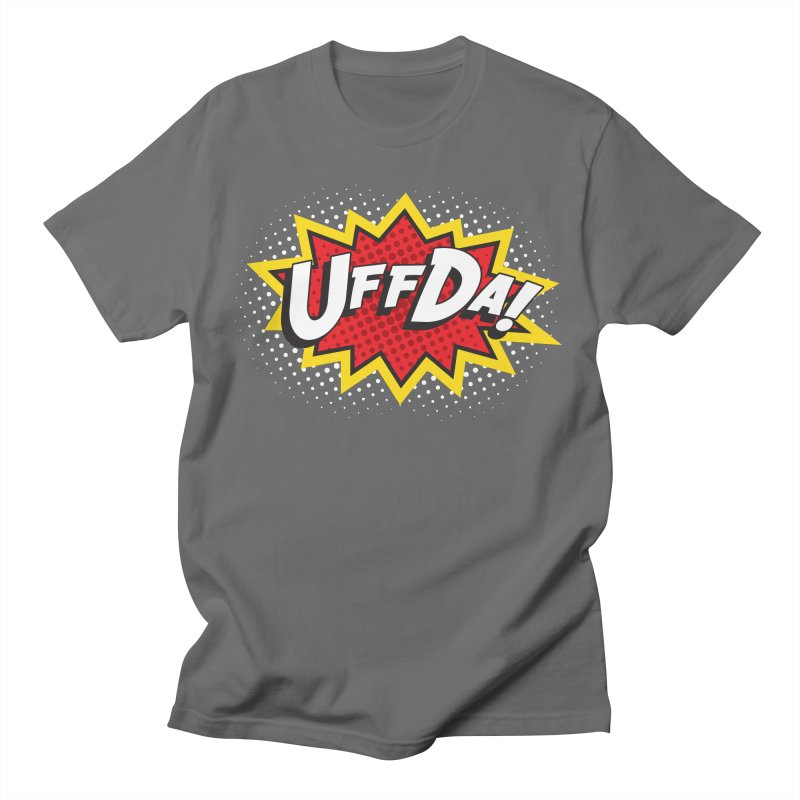 Uffda Burst Men's T-Shirt by Logo Mo Doodles, Drawings, and Designs