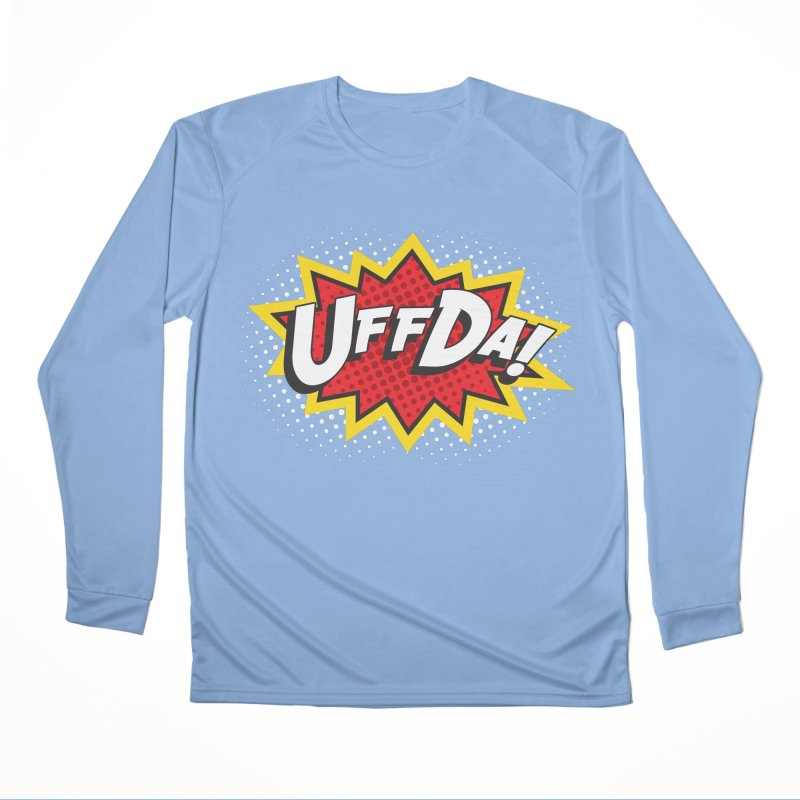Uffda Burst Men's Longsleeve T-Shirt by Logo Mo Doodles, Drawings, and Designs