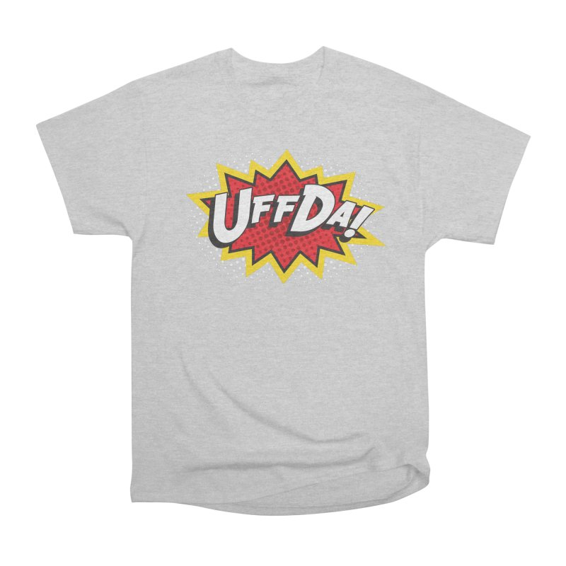 Uffda Burst Women's T-Shirt by Logo Mo Doodles, Drawings, and Designs