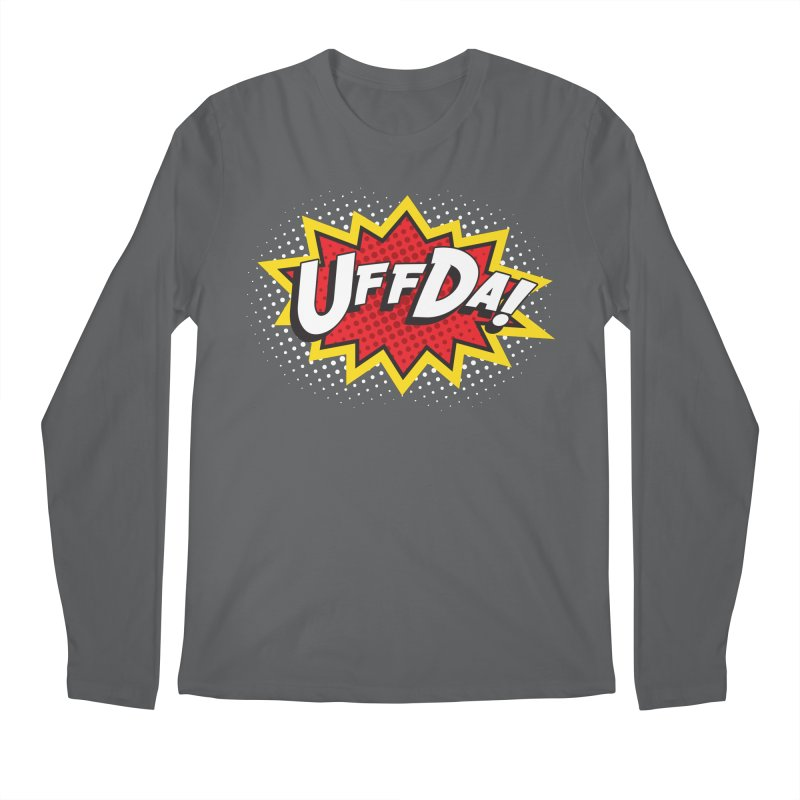 Uffda Burst Men's Longsleeve T-Shirt by Logo Mo Doodles, Drawings, and Designs
