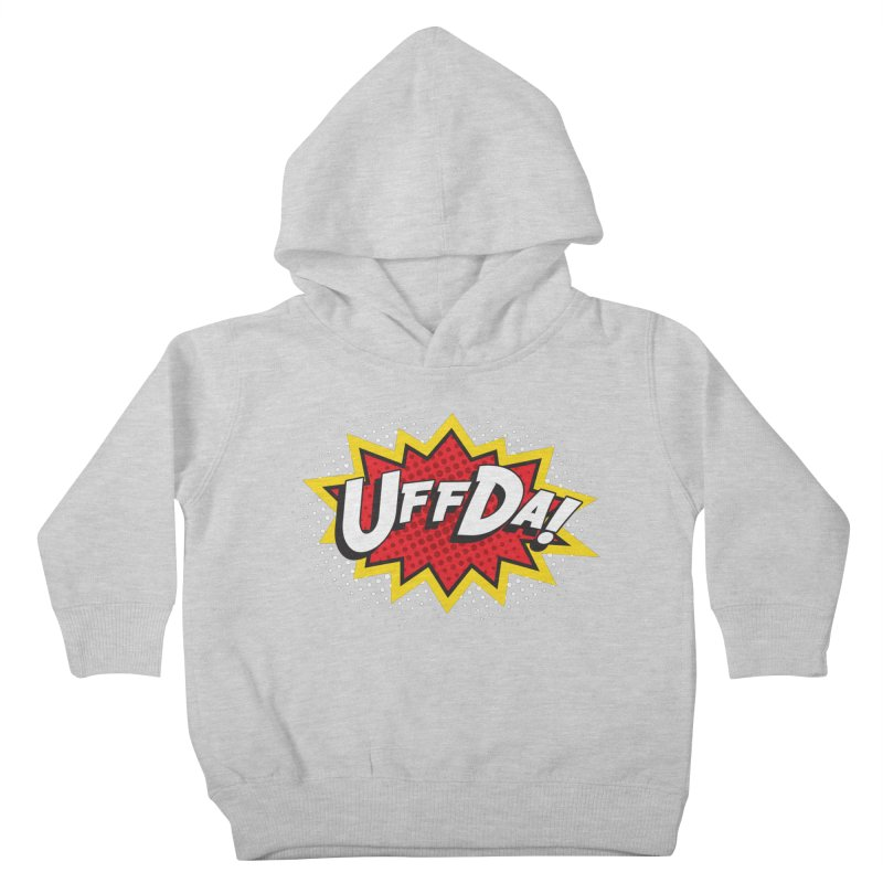 Uffda Burst Kids Toddler Pullover Hoody by Logo Mo Doodles, Drawings, and Designs