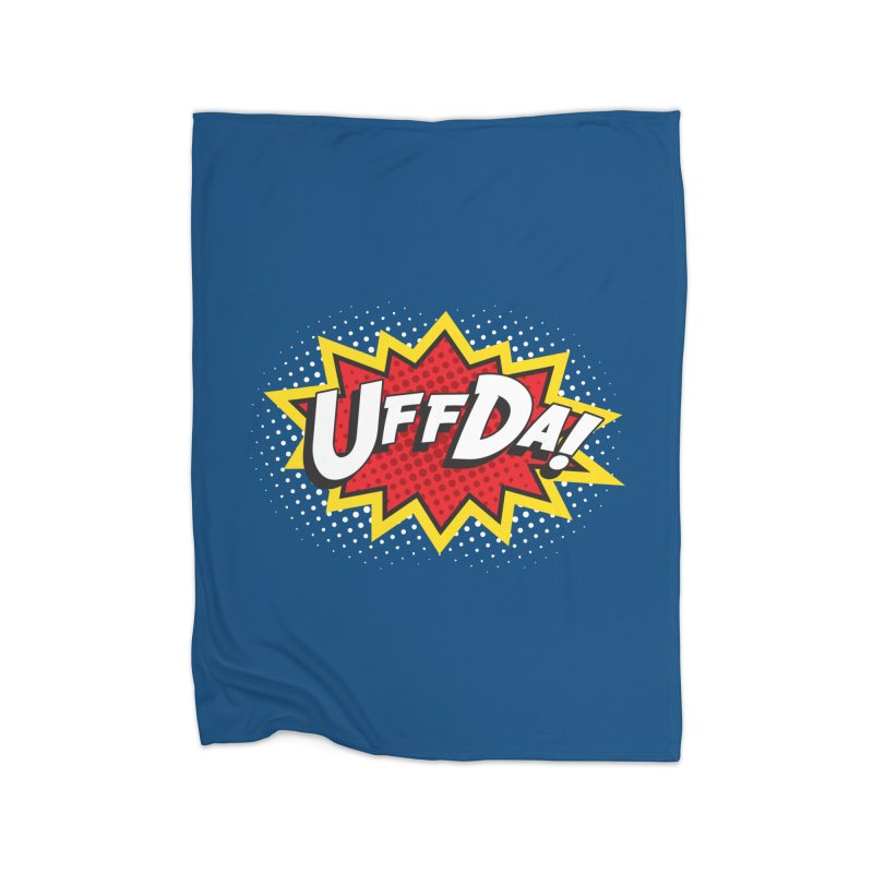 Uffda Burst Home Blanket by Logo Mo Doodles, Drawings, and Designs