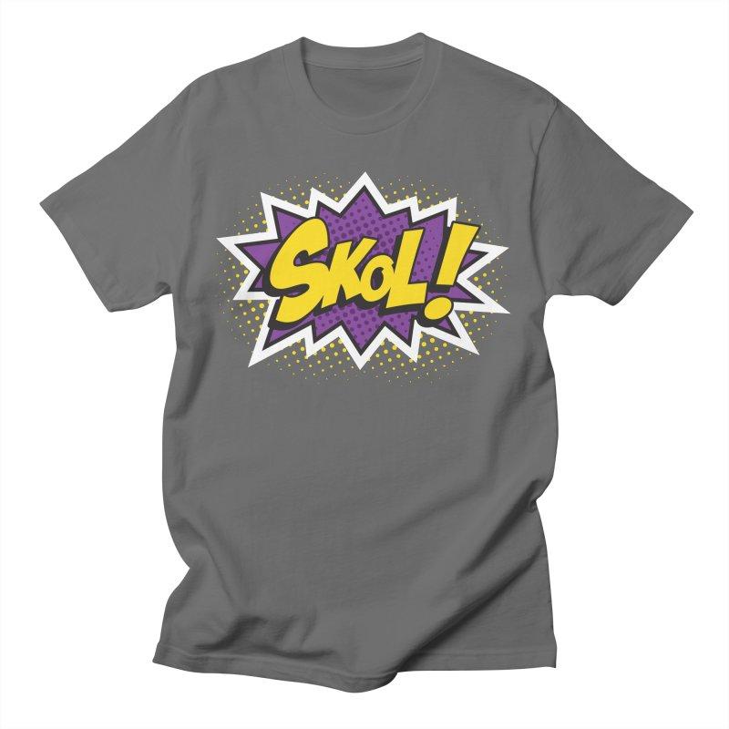 Skol Burst Men's T-Shirt by Logo Mo Doodles, Drawings, and Designs