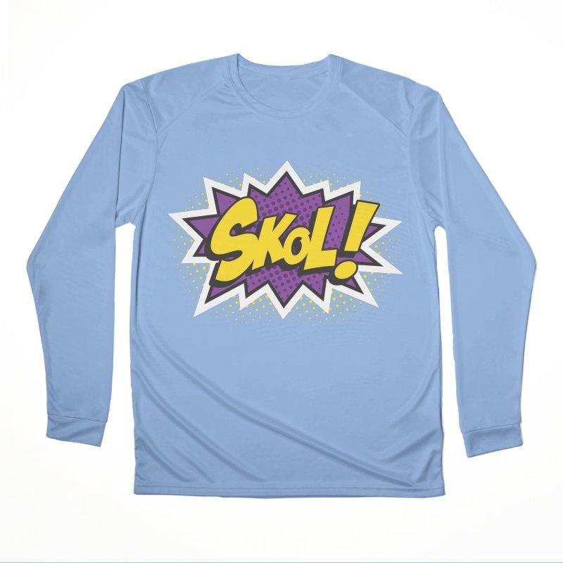 Skol Burst Men's Longsleeve T-Shirt by Logo Mo Doodles, Drawings, and Designs