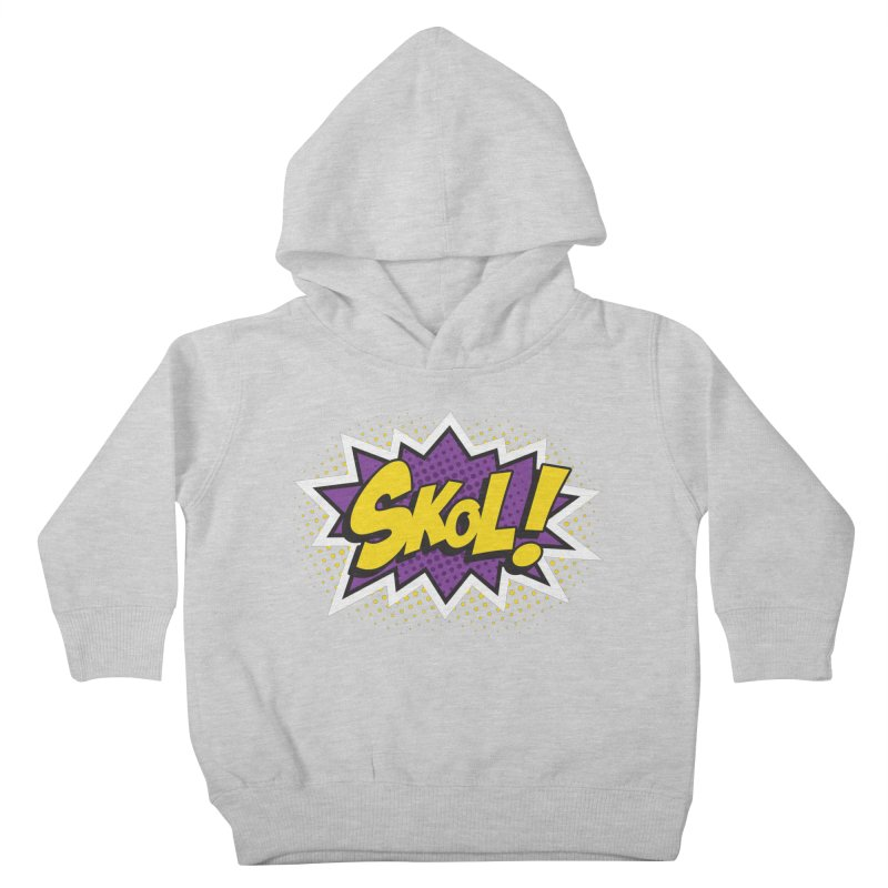 Skol Burst Kids Toddler Pullover Hoody by Logo Mo Doodles, Drawings, and Designs