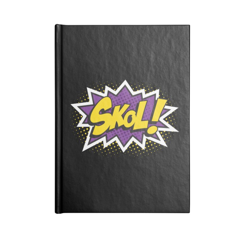 Skol Burst Accessories Notebook by Logo Mo Doodles, Drawings, and Designs
