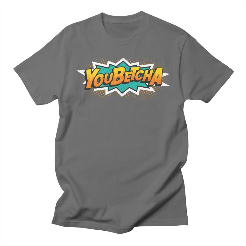 Youbetcha Burst Men's T-Shirt by Logo Mo Doodles, Drawings, and Designs