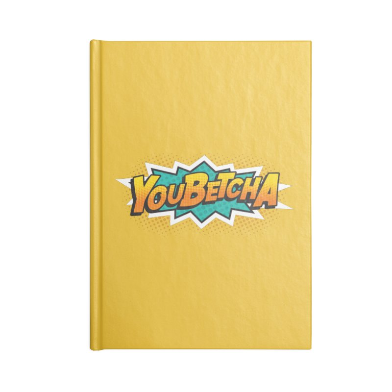 Youbetcha Burst Accessories Notebook by Logo Mo Doodles, Drawings, and Designs