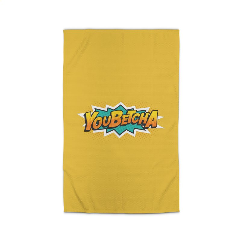 Youbetcha Burst Home Rug by Logo Mo Doodles, Drawings, and Designs