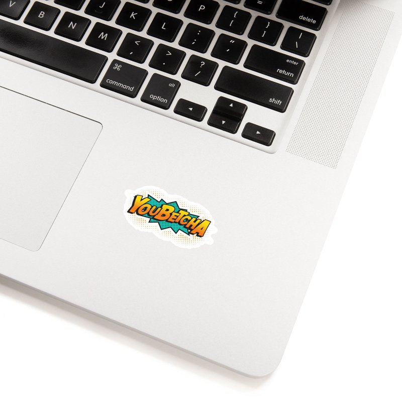 Youbetcha Burst Accessories Sticker by Logo Mo Doodles, Drawings, and Designs
