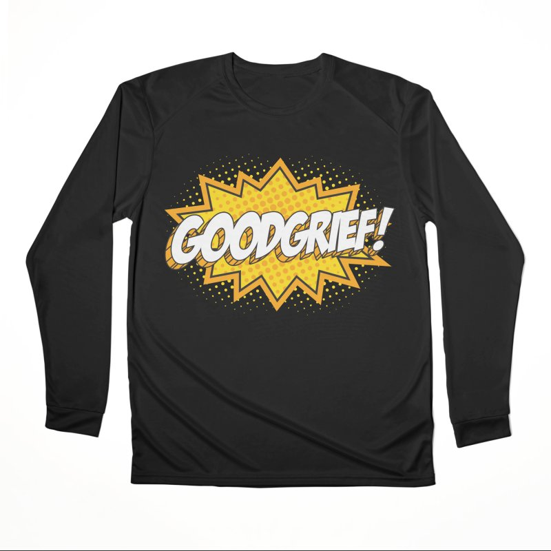 Goodgrief Burst Men's Longsleeve T-Shirt by Logo Mo Doodles, Drawings, and Designs
