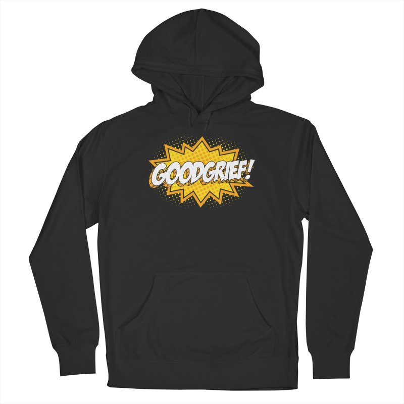 Goodgrief Burst Men's Pullover Hoody by Logo Mo Doodles, Drawings, and Designs