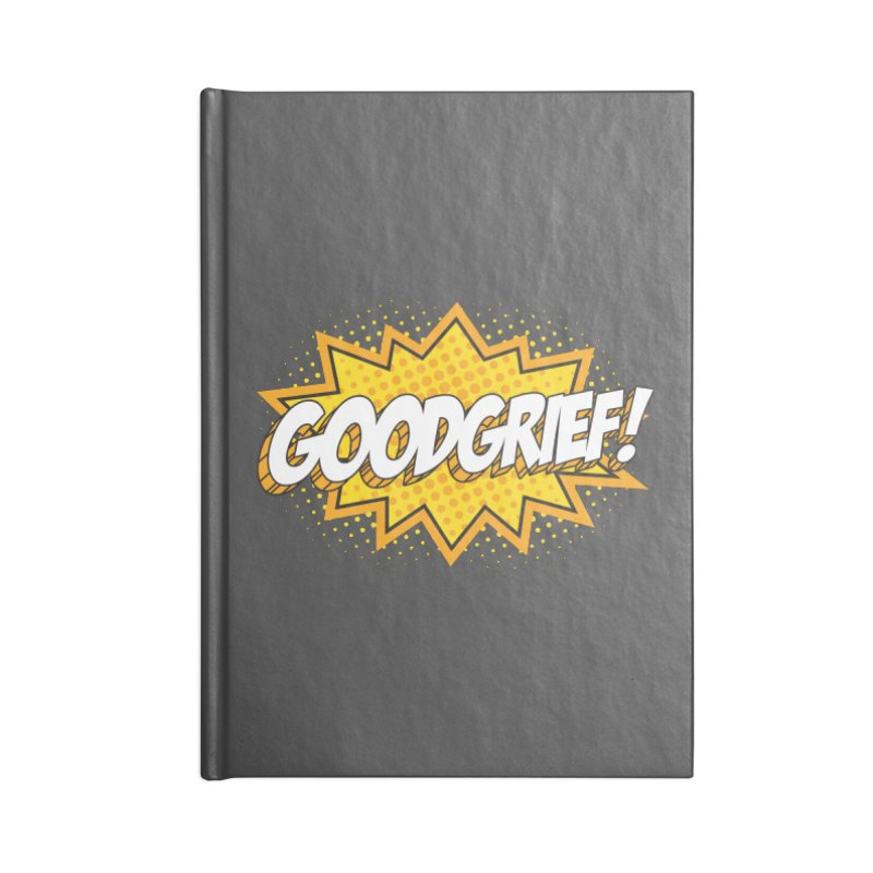 Goodgrief Burst Accessories Notebook by Logo Mo Doodles, Drawings, and Designs