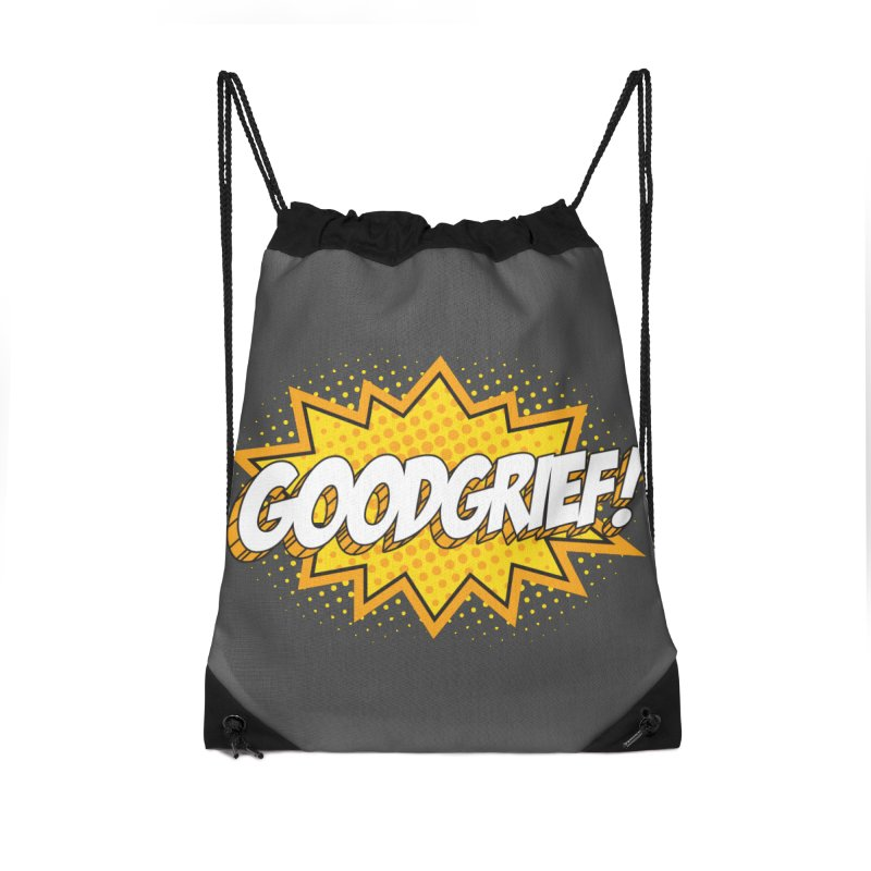 Goodgrief Burst Accessories Bag by Logo Mo Doodles, Drawings, and Designs
