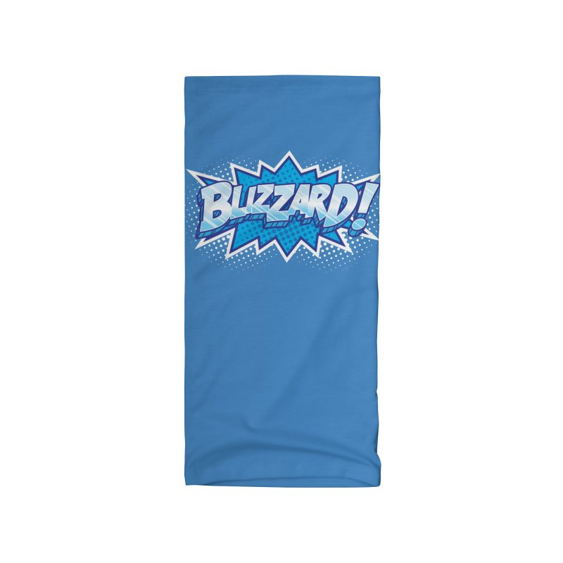 Blizzard Burst Accessories Neck Gaiter by Logo Mo Doodles, Drawings, and Designs
