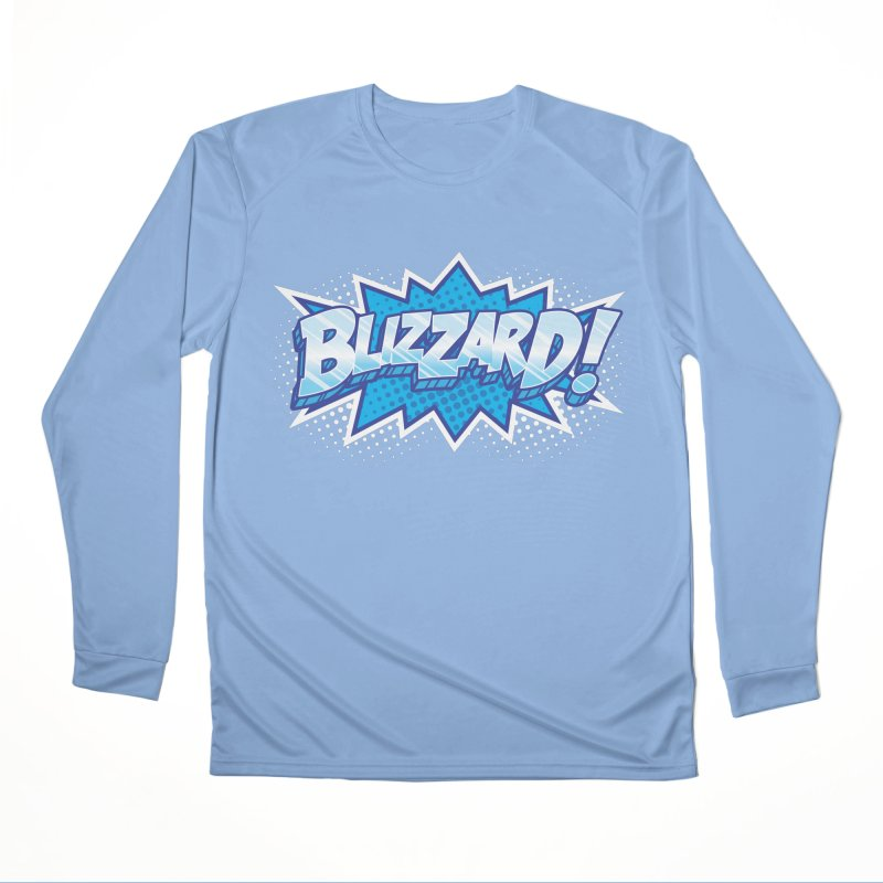 Blizzard Burst Men's Longsleeve T-Shirt by Logo Mo Doodles, Drawings, and Designs