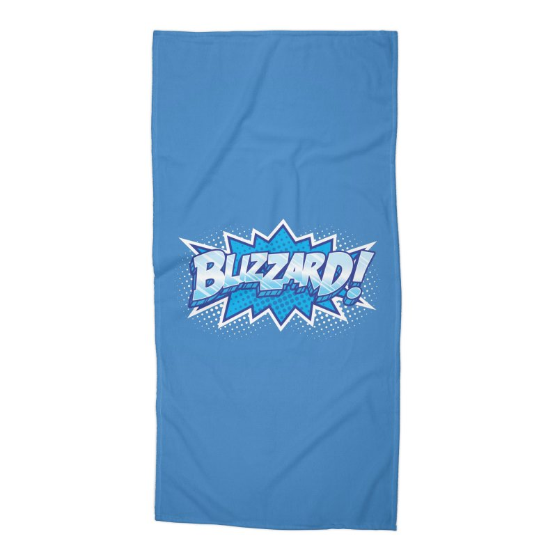 Blizzard Burst Accessories Beach Towel by Logo Mo Doodles, Drawings, and Designs