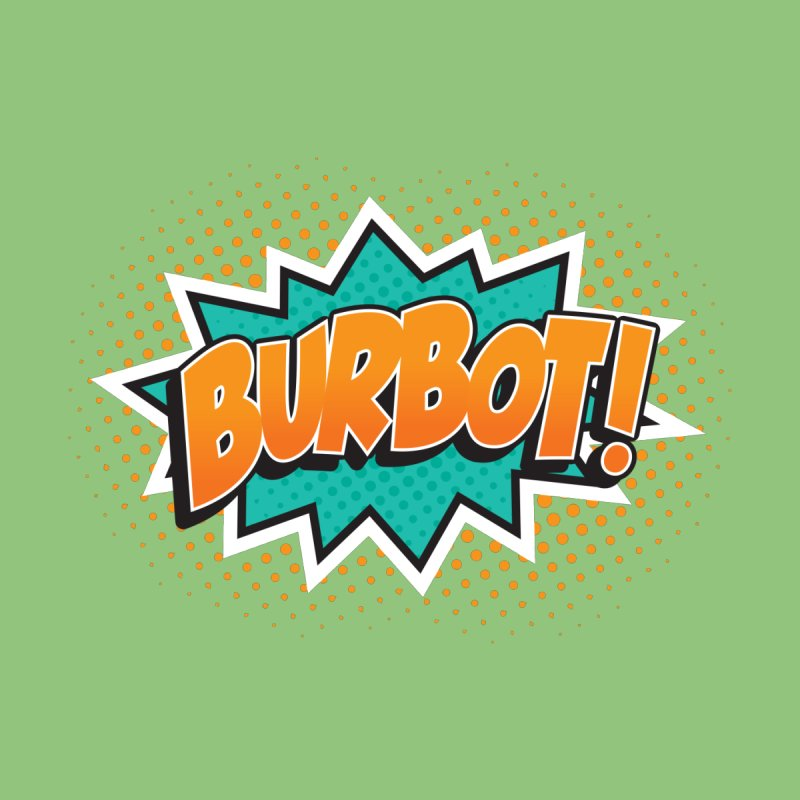 Burbot Burst Kids T-Shirt by Logo Mo Doodles, Drawings, and Designs