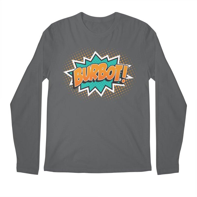 Burbot Burst Men's Longsleeve T-Shirt by Logo Mo Doodles, Drawings, and Designs