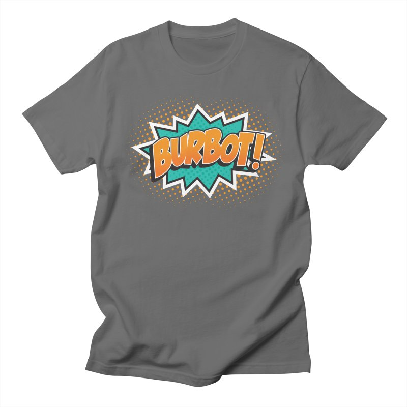 Burbot Burst Men's T-Shirt by Logo Mo Doodles, Drawings, and Designs