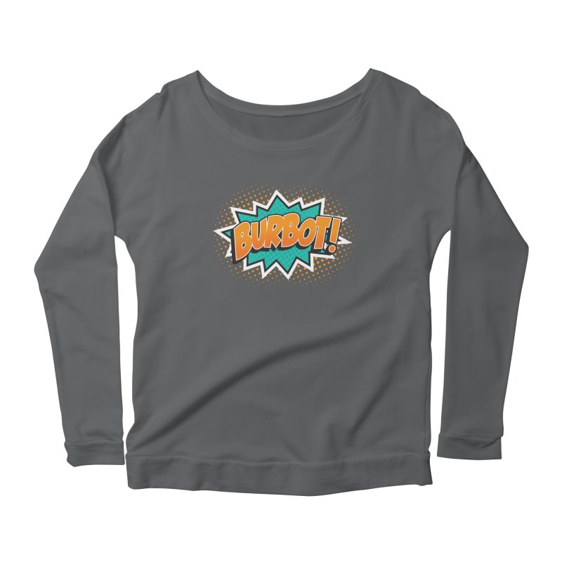 Burbot Burst Women's Longsleeve T-Shirt by Logo Mo Doodles, Drawings, and Designs