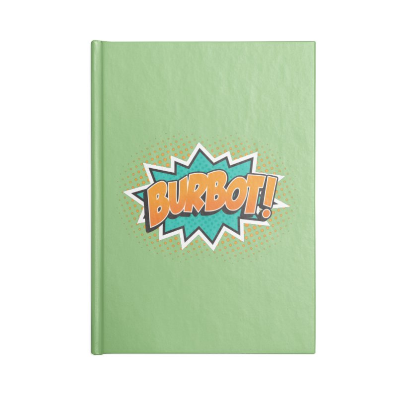 Burbot Burst Accessories Notebook by Logo Mo Doodles, Drawings, and Designs