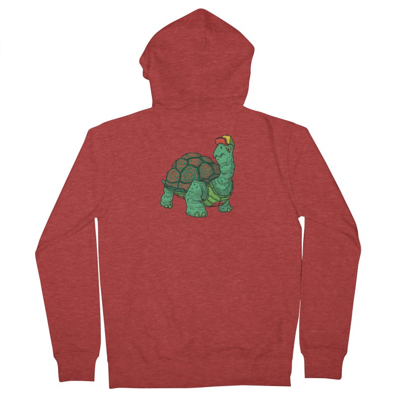 Hipster Turtle Shirts Women's French Terry Zip-Up Hoody by Logo Mo Doodles, Drawings, and Designs
