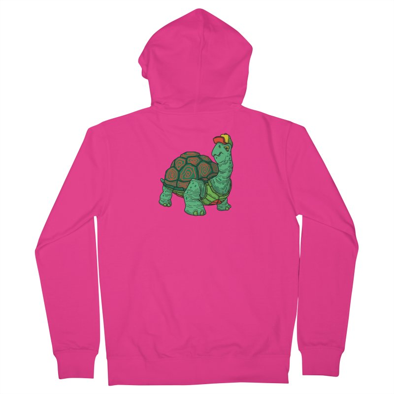 Hipster Turtle Shirts Men's French Terry Zip-Up Hoody by Logo Mo Doodles, Drawings, and Designs