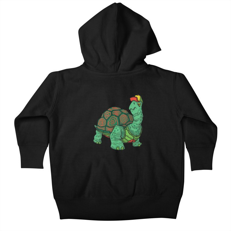 Hipster Turtle Shirts Kids Baby Zip-Up Hoody by Logo Mo Doodles, Drawings, and Designs