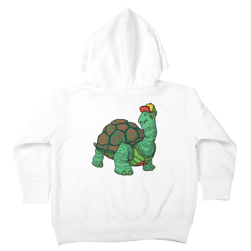 Hipster Turtle Shirts Kids Toddler Zip-Up Hoody by Logo Mo Doodles, Drawings, and Designs