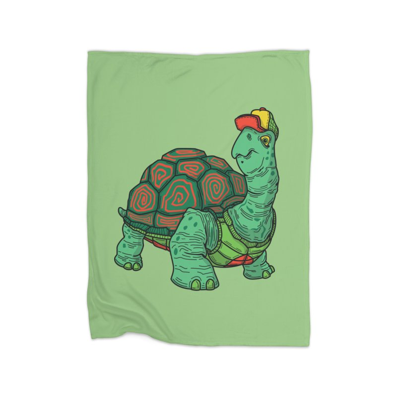 Hipster Turtle Shirts Home Fleece Blanket Blanket by Logo Mo Doodles, Drawings, and Designs