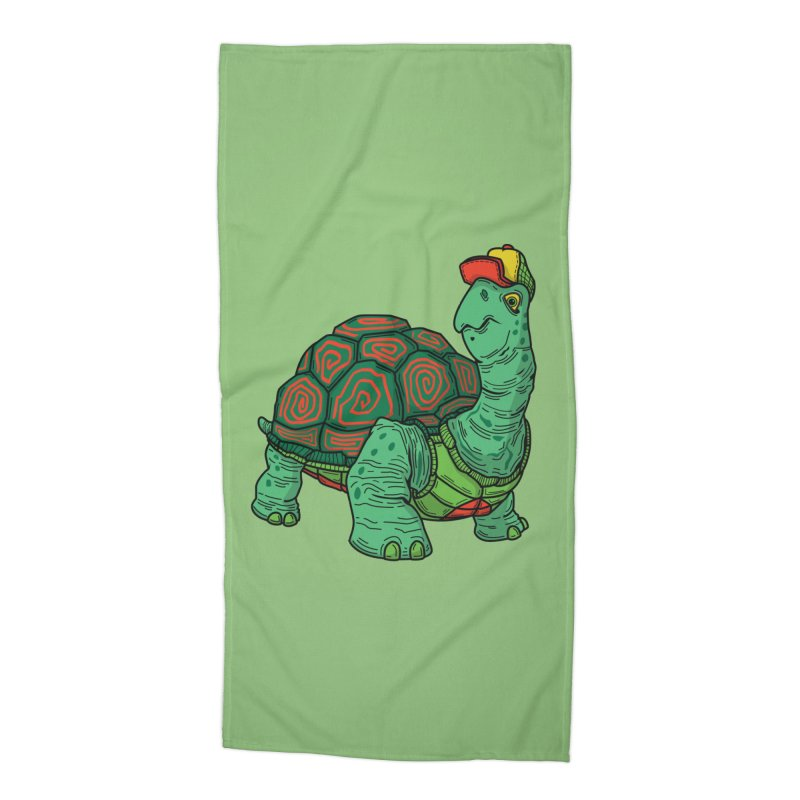 Hipster Turtle Shirts Accessories Beach Towel by Logo Mo Doodles, Drawings, and Designs