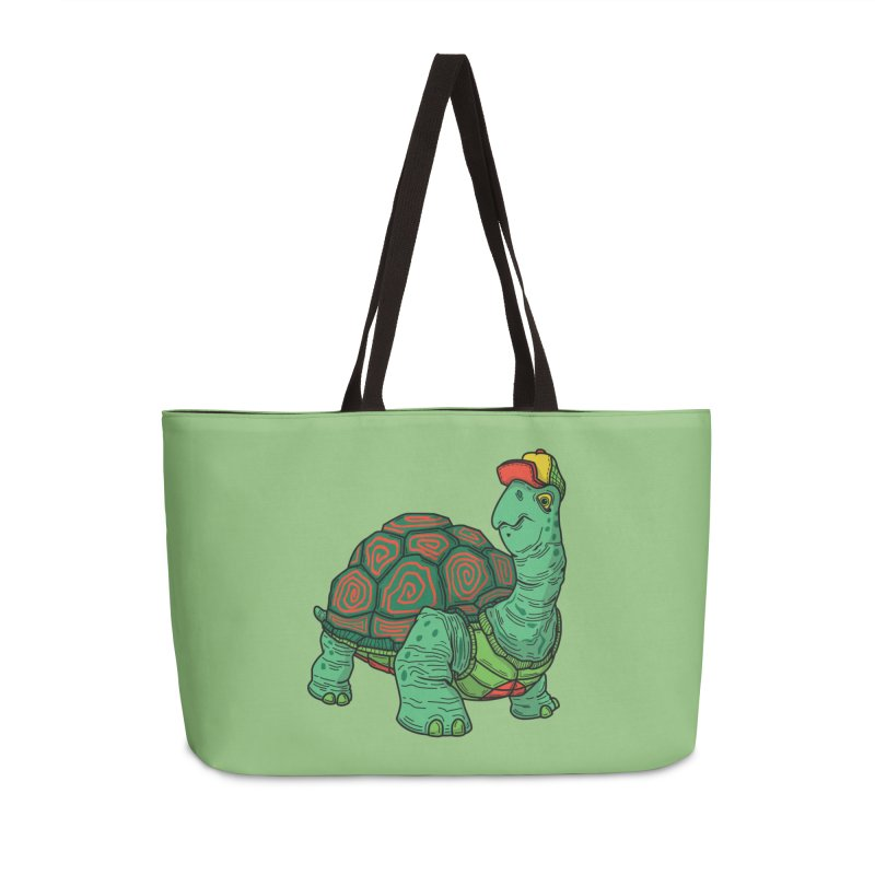 Hipster Turtle Shirts Accessories Weekender Bag Bag by Logo Mo Doodles, Drawings, and Designs