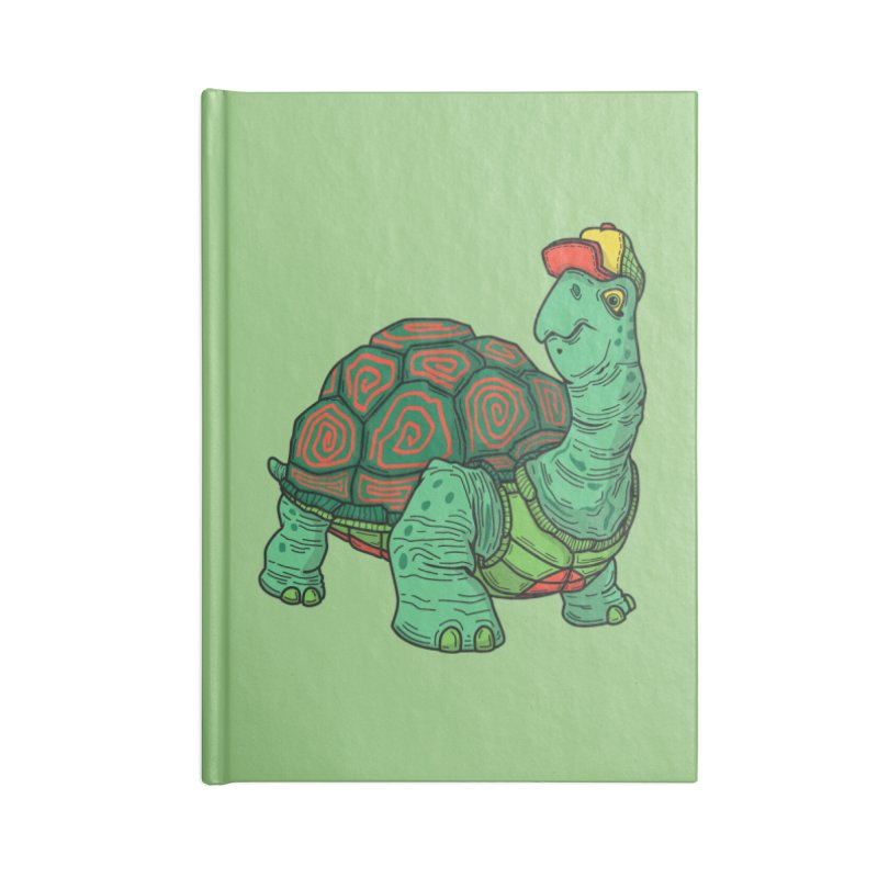Hipster Turtle Shirts Accessories Lined Journal Notebook by Logo Mo Doodles, Drawings, and Designs