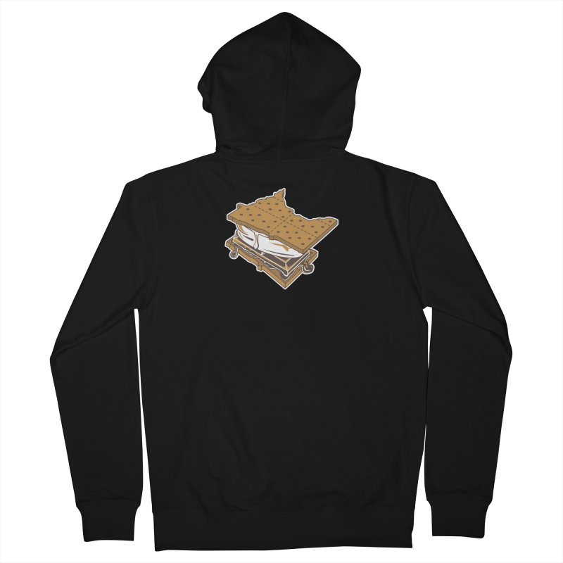 MinneS'moreta Star of the S'moreth Women's French Terry Zip-Up Hoody by Logo Mo Doodles, Drawings, and Designs