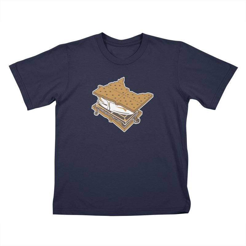MinneS'moreta Star of the S'moreth Kids T-Shirt by Logo Mo Doodles, Drawings, and Designs